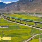 Layanan Jalur Kereta Peluru Pertama Tibet